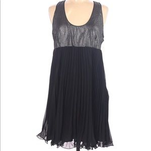 NWT Patricia Field Black and Shimmer Dress